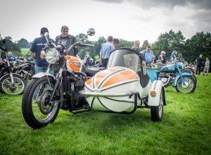 Triumph with sidecar